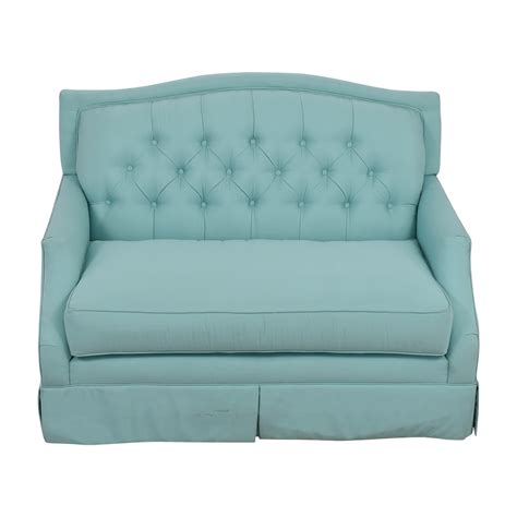 turquoise sofas loveseats turquoise sofas loveseats south s live it cozy 2 seat