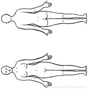 parts of the body colouring images