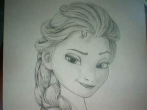 Elsa smirking (Did draw) For Lizzy! | drawing and other ...