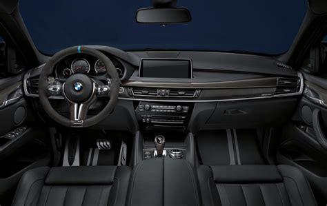 bmw x5 interior bmw m performance accessories announced for x5 m x6 m