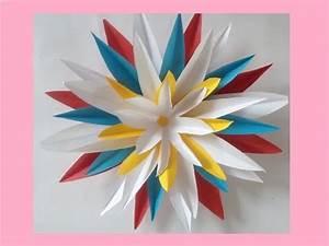 Papierblumen Basteln Anleitung : diy tutorial papierblumen basteln anleitung geschenkideen zum muttertag youtube ~ Orissabook.com Haus und Dekorationen
