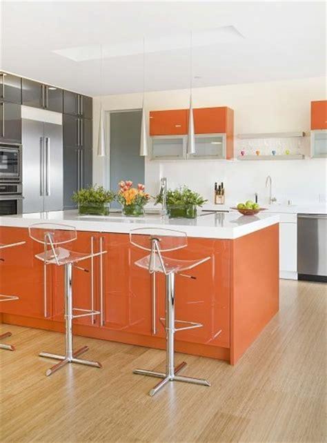 cuisine orange orange déco