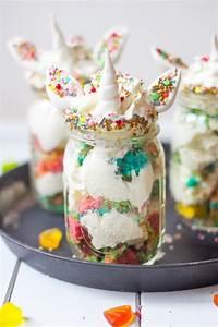 Bilder Im Glas : einhorn kuchen dessert im glas trytrytry ~ Orissabook.com Haus und Dekorationen
