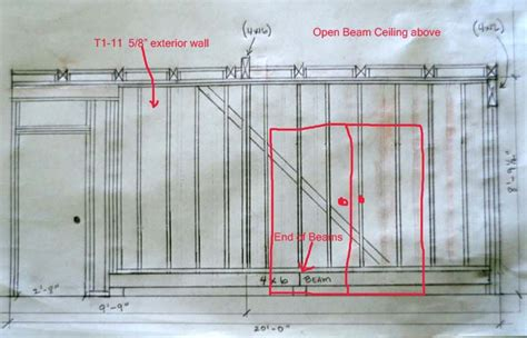Framing Question Adding Door To Stud Wall With Cross