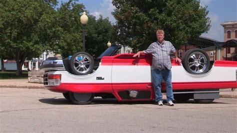 Man Builds Unique Drivable Upside-down Truck