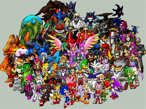 Sonic Hedgehog Characters