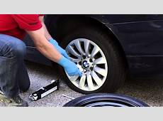 Changing a Flat Tire on a BMW or MINI BavAuto Space