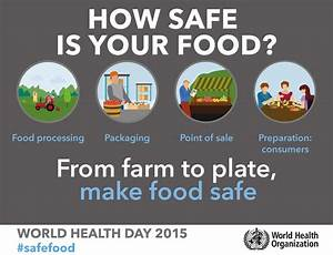 Un Stresses Importance Of Food Safety  U2013 From Farm To Plate