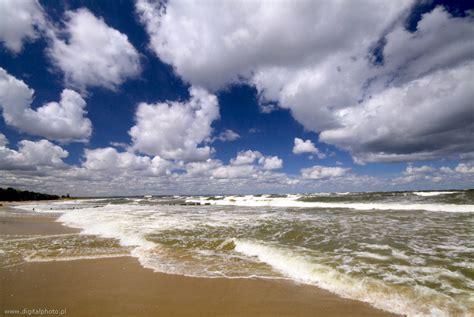 acheter cuisine plage nuages et des vagues mer baltique images photos