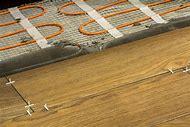 Heated Tile Floor Installation