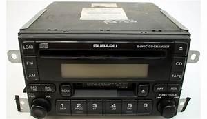 2001 To 2003 Fits Subaru Impreza Vehicle Factory 6 Disc