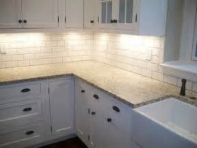 White Kitchen Backsplash Tile Backsplash Ideas For White Kitchen Cabinets Home Furniture Design