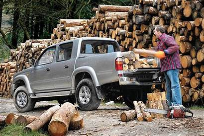 Hilux Toyota Dimensions Area Load Parkers 2005