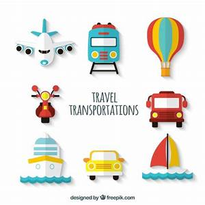 Travel transport Collection Vector | Premium Download
