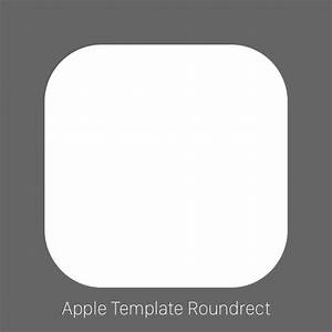 thoughts on the new official apple app icon template With iphone app logo template