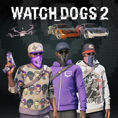 Watchdogs 2 Fully Decked Out Bundle 2017 Playstation 4