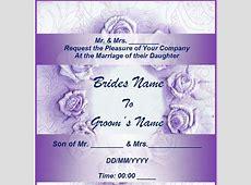 4 Best Images of Free Printable Wedding Invitation