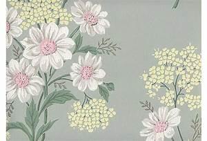 Pastel Floral Wallpaper, 60 Sq. Ft