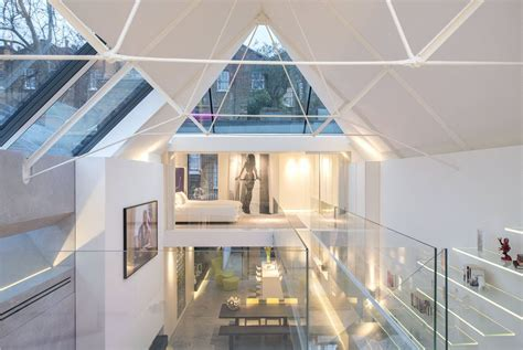 Modern Artist's Studio Terrace House In Chelsea