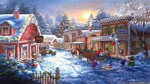 Free Wallpapers Christmas Scenes