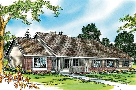 Ranch House Plans  Alpine 30043  Associated Designs