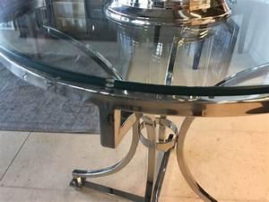 Tisch Rund Glas : tisch rund glas metall runder glastisch durchmesser 65 cm ~ Frokenaadalensverden.com Haus und Dekorationen