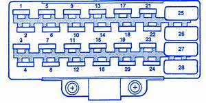 Jeep Sahara 2001 Fuse Box  Block Circuit Breaker Diagram