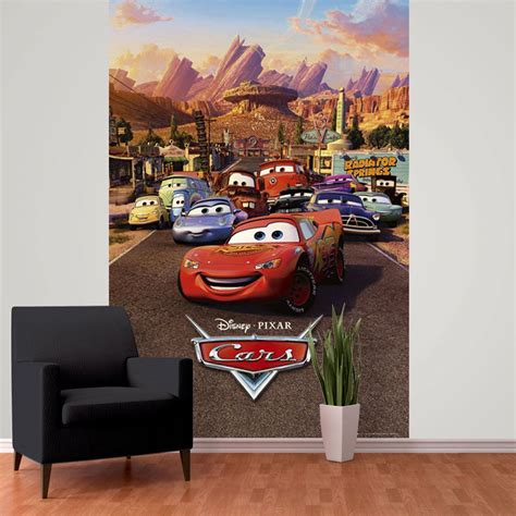 Disney Wallpaper For Bedrooms by Disney Cars Wall Murals 6 Designs Available Bedroom