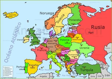 Best 25+ Mapa Paises Europa Ideas On Pinterest Mapa