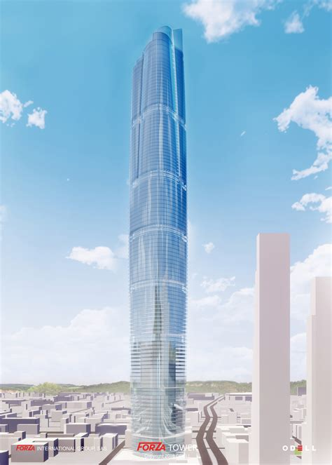 forza tower odell architecture