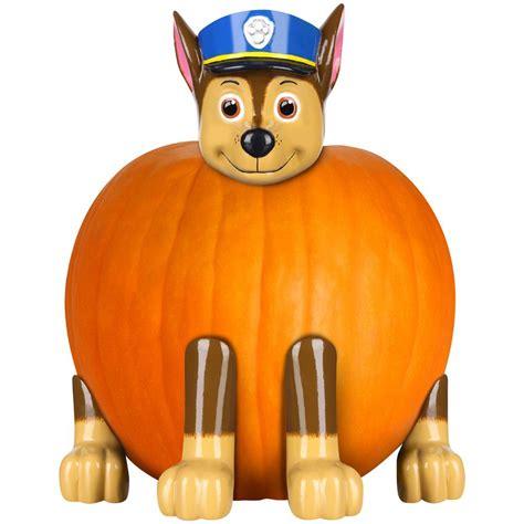 chase paw patrol pumpkin push  kit