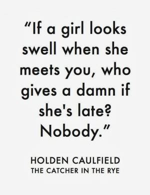 holden caulfield and depression