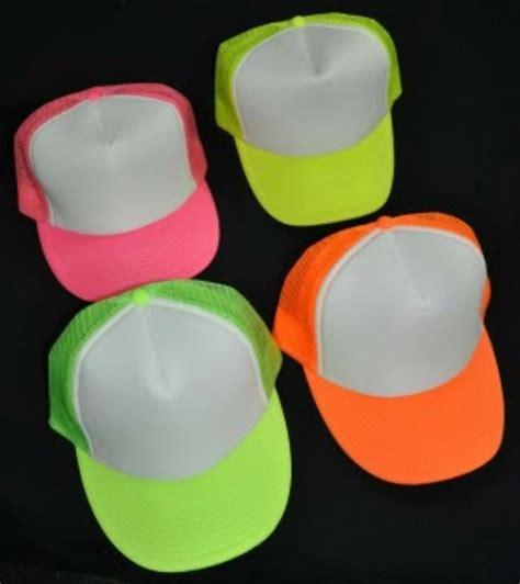 colores neon gorra tipo trucker colores neon