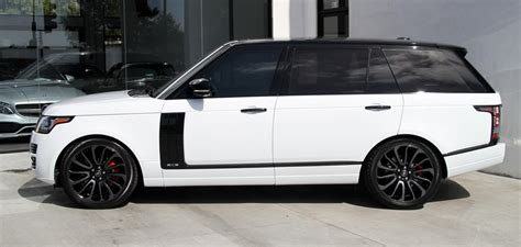land rover range rover supercharged long wheel