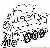 Coloring Steam Locomotive Pages Land Transport Coloringpages101 Pdf sketch template