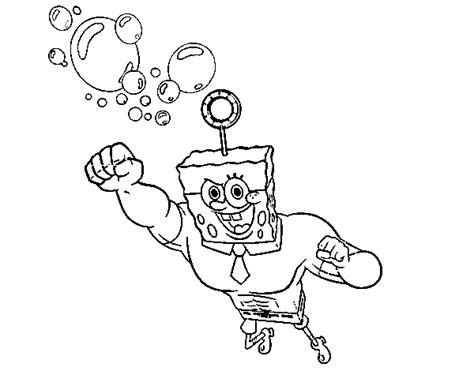 disegni da colorare e stare spongebob disegno di spongebob la invincibolla per l attacco da