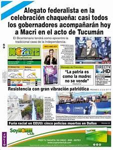Peri U00f3dico Diario Norte  Argentina   Peri U00f3dicos De Argentina  Edici U00f3n De S U00e1bado  9 De Julio De