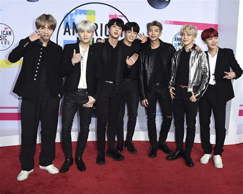 American Music Awards 2017 Bts What To Know Peoplecom