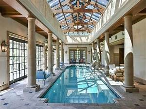 Pinterest o the worlds catalog of ideas for Indoor pool with retractable roof