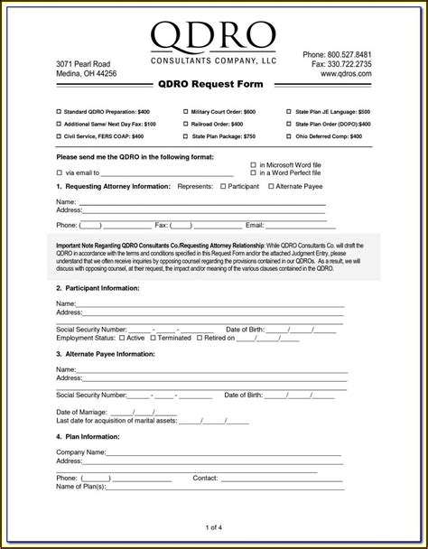 sample qdro   form resume examples moyodovzb