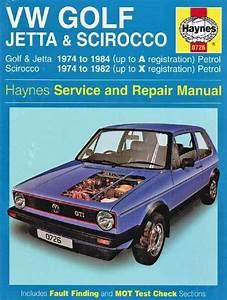 Vw Volkswagen Golf  Mk I   Jetta  U0026 Scirocco 1974