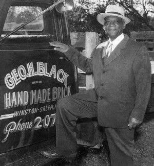 George Henry Black, Famous brick maker in Winston-Salem ...