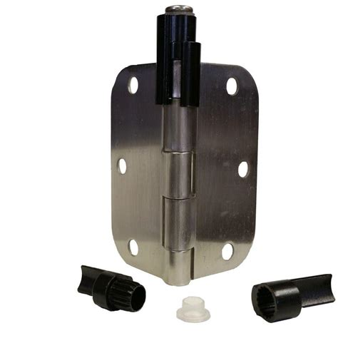 hinge door stop express products rubbed bronze adjustable bumper less