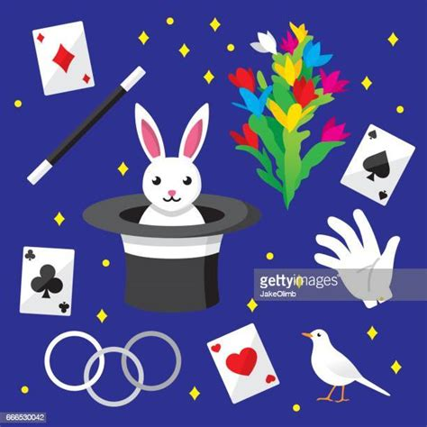magic trick stock illustrations getty images