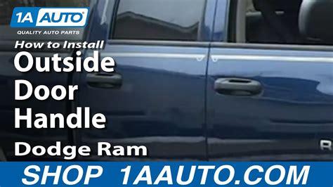 install repair replace rear  door handle