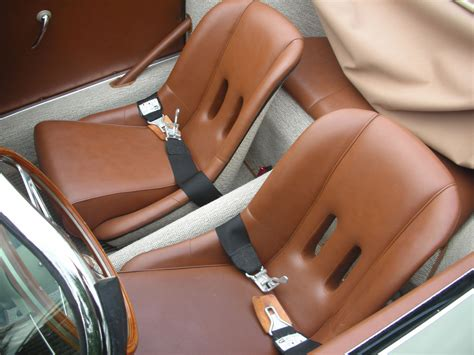 Leather Seats + German Square Weave Carpet [porsche 356 A