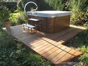 Spa Bois Exterieur : jacuzzi spa douche tour et micro piscine a remous en ~ Premium-room.com Idées de Décoration