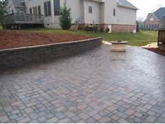Adding Pavers To Concrete Patio Decorate Paver Patio Design And Installation