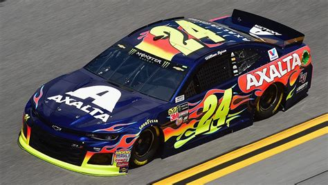 william byron leads practice  daytona  qualifying