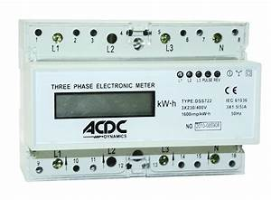 1 5 5 A Digital 3 Phase 400v   N Kwh Meter  U2013 Acdc Dynamics Online